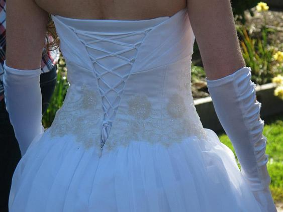 Maddison back of dress